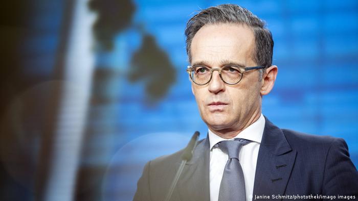Deutschland Aussenminister Heiko Maas