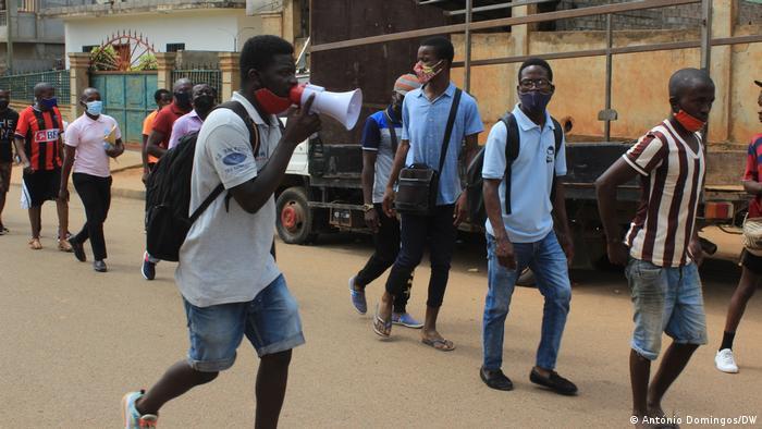 Angola Proteste gegen MPLA in Ndalatando