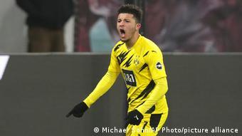Deutschland Bundesliga RB Leipzig - Borussia Dortmund | Tor Sancho