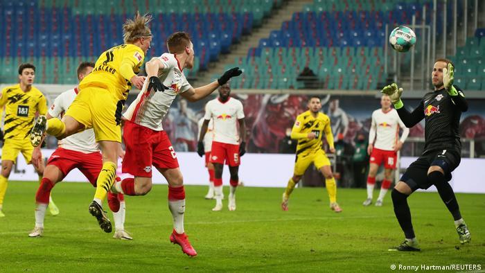 Deutschland Bundesliga RB Leipzig - Borussia Dortmund | Tor Haaland