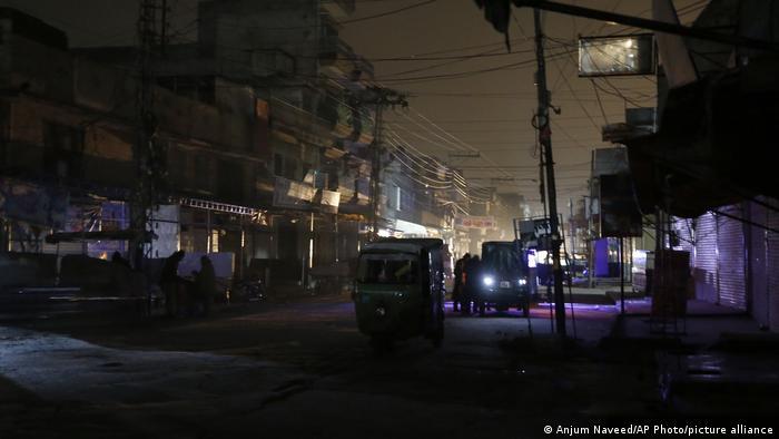 Pakistan Stromausfall in Karatschi