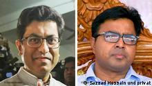 Bürgermeister Dhaka Südstadt Fazle Noor Taposh und ehemaliger Bürgermeister Sayeed_Khokon