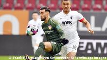 Deutschland Bundesliga FC Augsburg gegen VfB Stuttgart