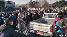 Iran Protest von Ärzten in Teheran