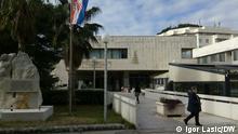 Krankenhaus in Dubrovnik. Foto: Igor Lasic/DW 10.1.2021