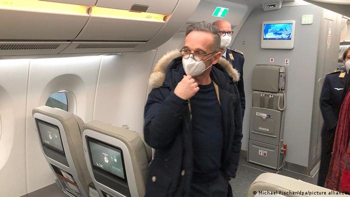 Deutschland neuer Regierungsflieger A350 Kurt Schumacher | Heiko Maas