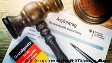 Deutschland Symbolbild Asylantrag