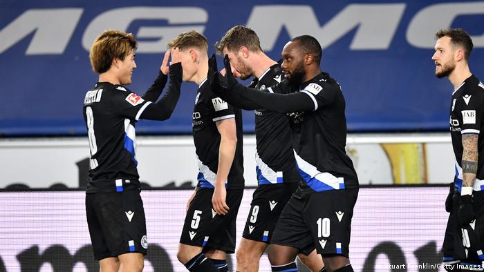 Deutschland Bundesliga Arminia Bielefeld - Hertha BSC Berlin Tor Yabo