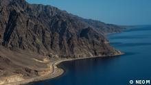 Saudi Arabien NEOM Bauprojekt Landschaft Rotes Meer