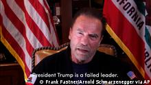 Still Schwarzenegger-Video Trump Capitol Sturm