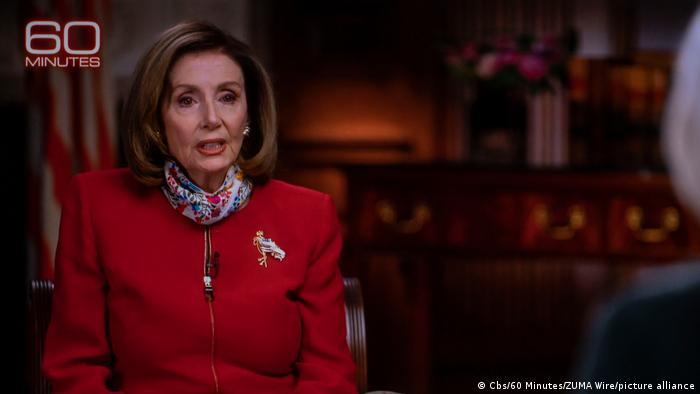 USA Interview Nancy Pelosi