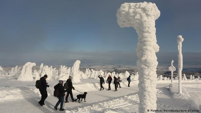 BdTD Deutschland Winter im Harz - Brocken