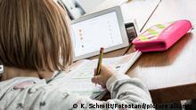 Deutschland Coronavirus - Homeschooling