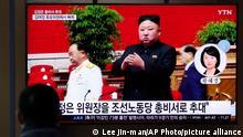 Südkorea TV Kim Jong Un