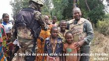 Zentralafrikanische Republik Firmin Ngrebada in Boali