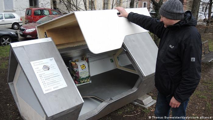 Капсулы для бездомных в Ульме