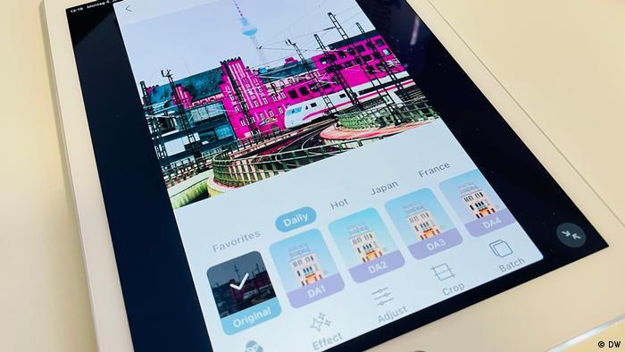 DW Shift: Fotobearbeitungs-Apps im Test, PicsLeap