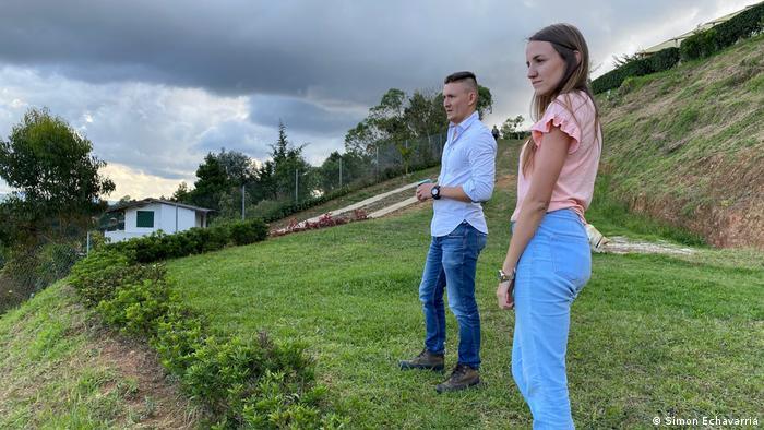 Daniel Correa and Melissa Naranjo, Pleia pet composting Medellin, Colombia