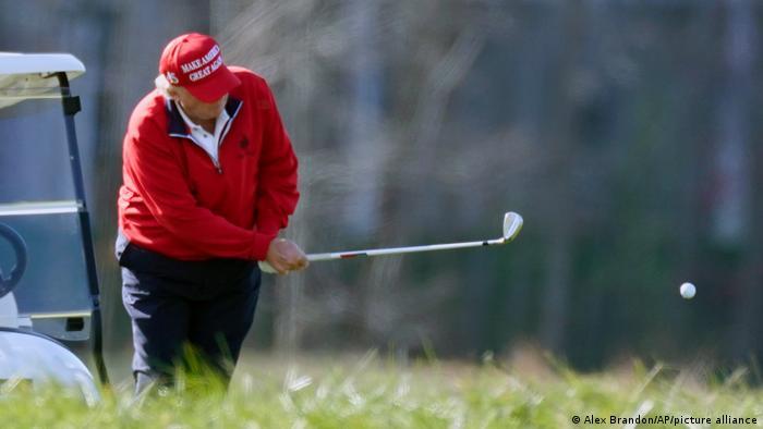 Donald Trump Golf National Golf Club Sterling