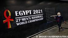 Ägypten Handball Weltmeisterschaft Vorbereitungen