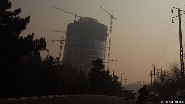 Iran Teheran Luftverschmutzung