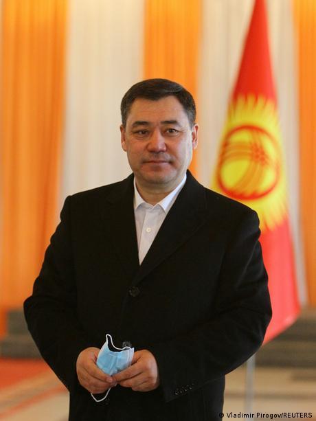 Kirgisistan Präsidentschaftskandidat Sadyr Schaparow