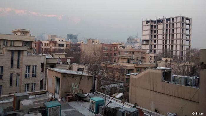 Iran Teheran, Luftverschmutzung