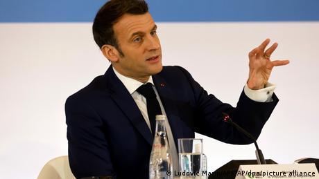 Ο Μακρόν στραμμένος στις προεδρικές του 2022