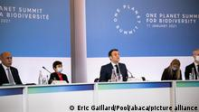 Frankreich Klimagipfel «One Planet Summit» in Paris