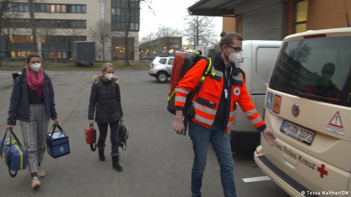 Echipă de vaccinare mobilă la Potsdam