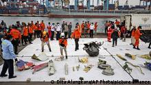 Indonesien Flugzeugabsturz Sriwijaya Air