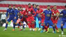 Derby Esteghlal Teheran gegen Persepolis in Teheran
