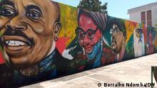 Angola Wandbild zu Ehren angolanischer Aktivisten in Luanda