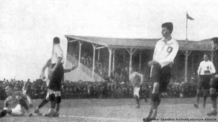 Deutschland Fußball: KSV Holstein Kiel - Karlsruher FV 1:0 1912
