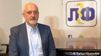 Anesteziolog i predsjednik Sindikata liječnika i farmaceuta Rade Panić