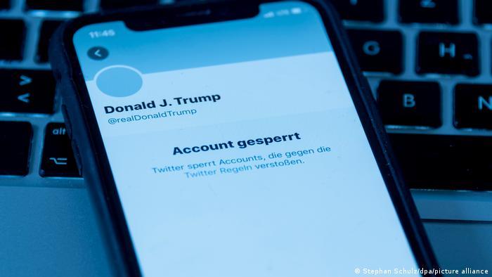 Twitter заблокував сторінку Трампа після штурму Капітолія його прихильниками