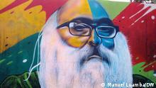 Angola Wandgemälde Mural da Cidadania