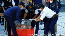 The black boxes of Sriwijaya Air flight SJ 182