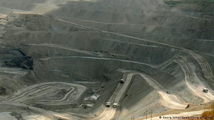 Kolumbien Bergbau Cerrejon