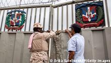 Grenze zwischen Dominikanische Republik und Haiti