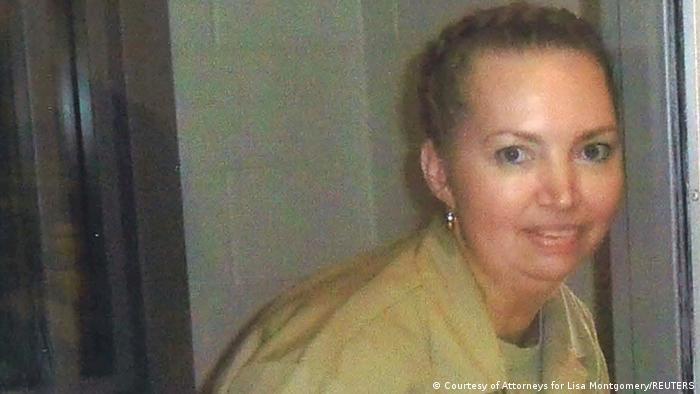 Lisa Montgomery, de 52 anos, é a 11ª pessoa executada nos Estados Unidos desde 2020.