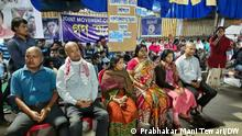 Thousands of teachers are protesting in the eastern state of Tripura after they were sacked from their jobs. 3 of the protesting teachers have allegedly died during these protests. Some teachers decided to get their heads shaved in solidarity.