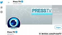 Press TV's Twitter page