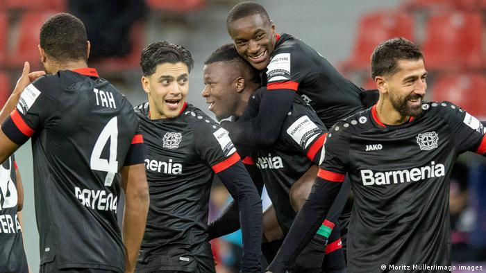 Deutschland DFB-Pokal | Leverkusen gegen Frankfurt | Tor (4:1)