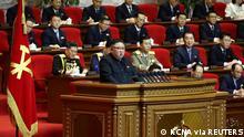 Nordkorea | 8. Kongress der Arbeiterpartei in Pjöngjang | Kim Jong Un