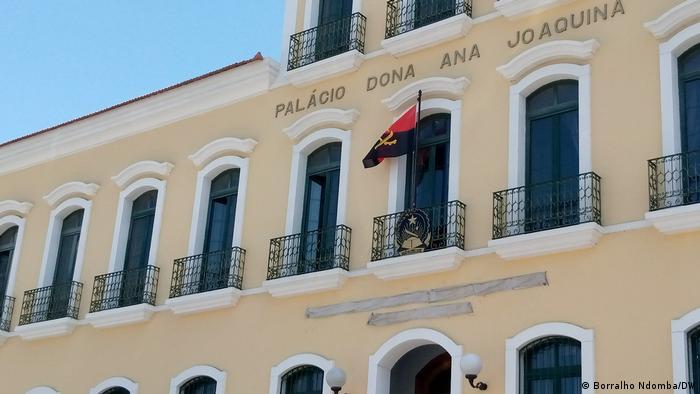 Angola Prozess gegen Cazengo-Demonstranten