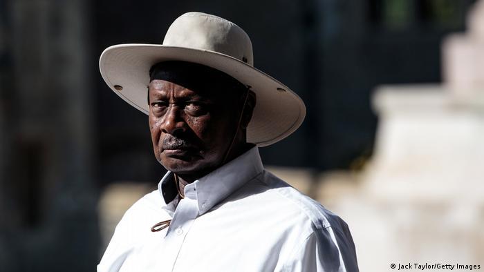 Uganda Präsident Yoweri Museveni