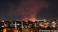 Syrien Israelischer Luftangriff auf Damaskus