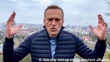 Kreml-Gegner Alexej Nawalny möchte nach Russland zurück