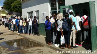 Mosambik Coronavirus Fähre Maxixe